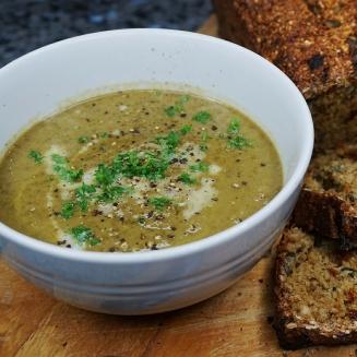 Vegan Green Veg & Hemp Protein Soup
